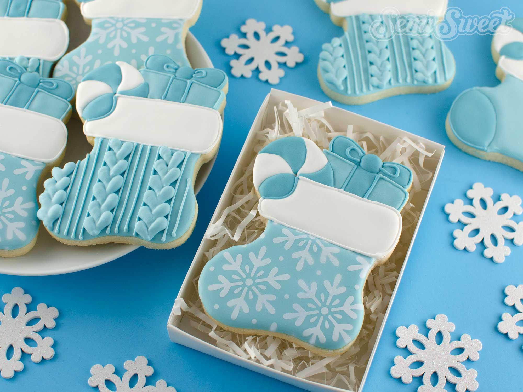 How to Make Christmas Stocking Cookies