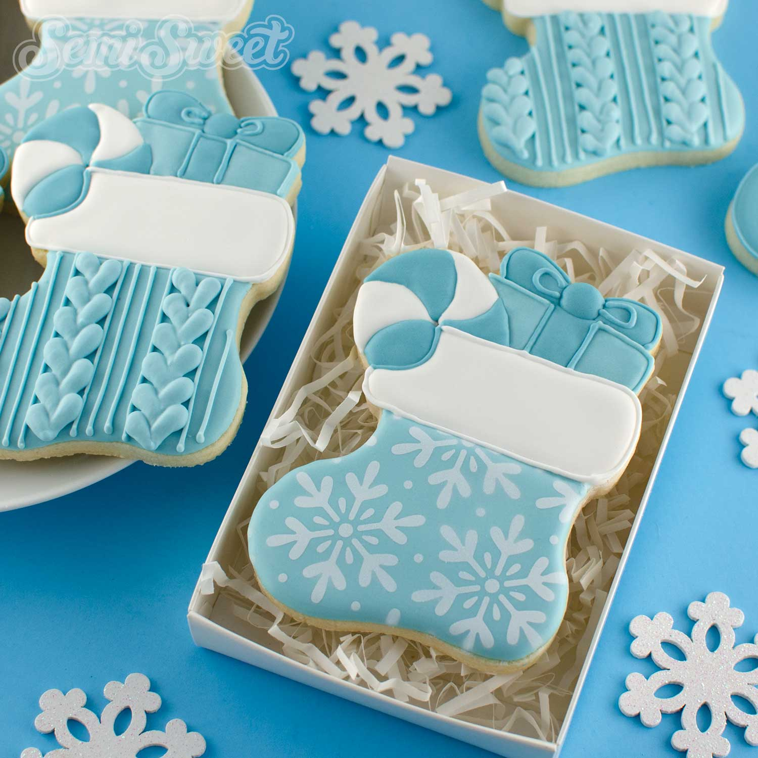 How to Make Christmas Stocking Cookies