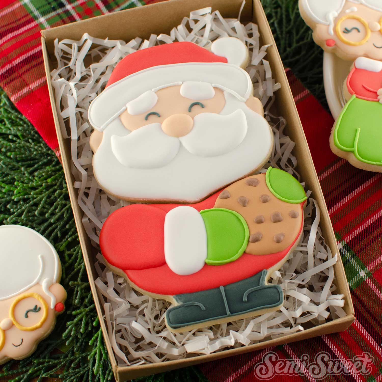 Santa Claus Cookie Set | Semi Sweet Designs