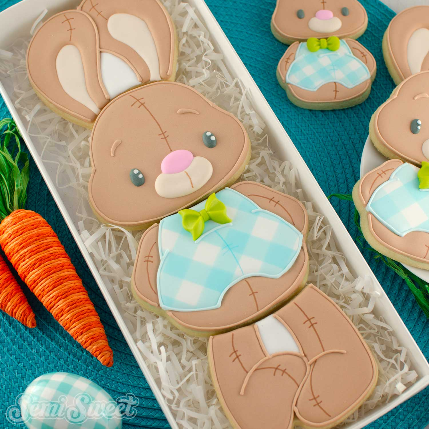 How to Make a Stackable Bunny Cookie Set