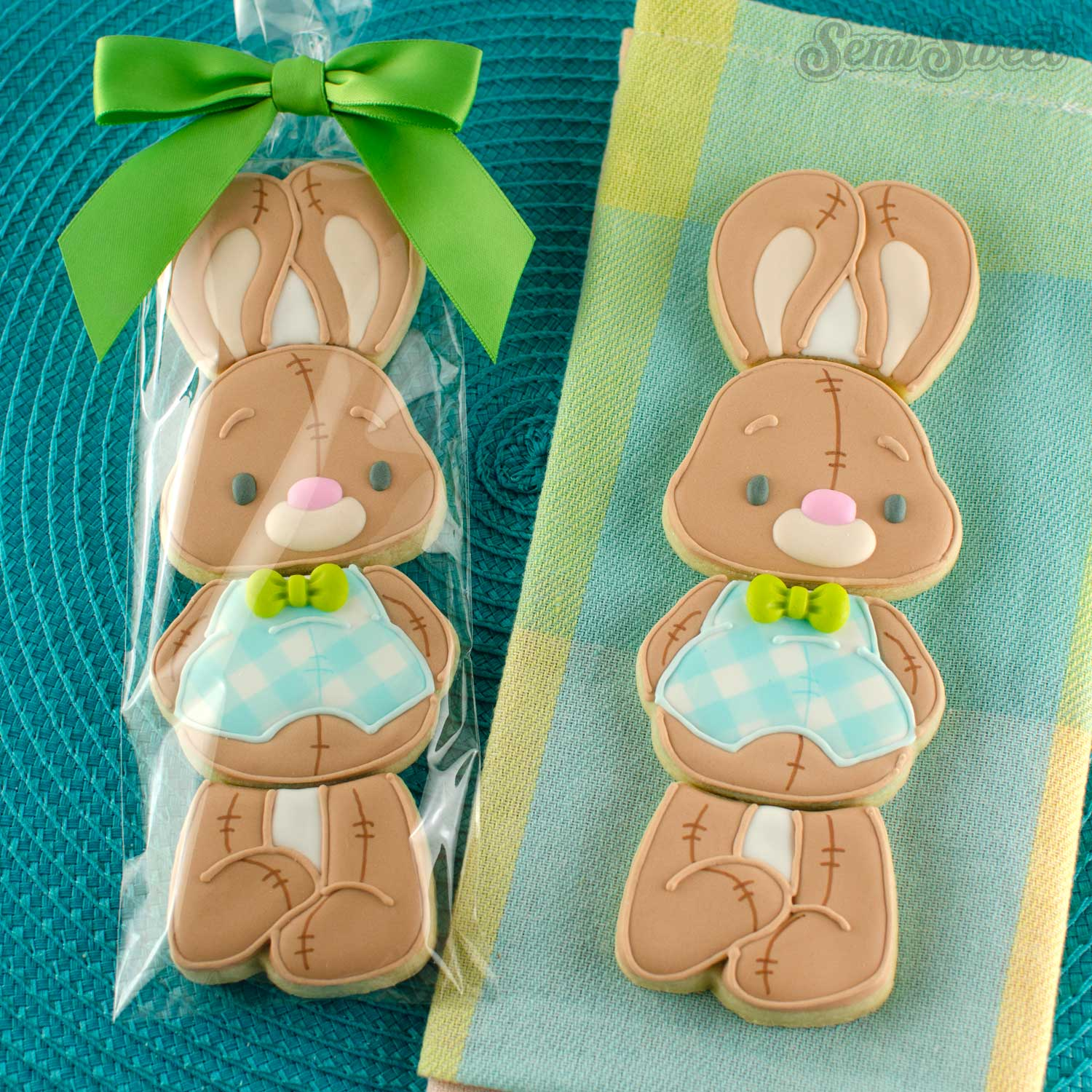 Stackable Bunny Cookie Set Minis | Semi Sweet Designs