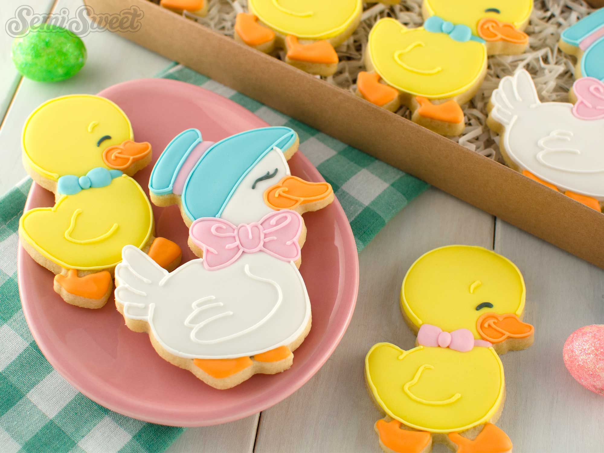 How to Make Mother Duck Cookies