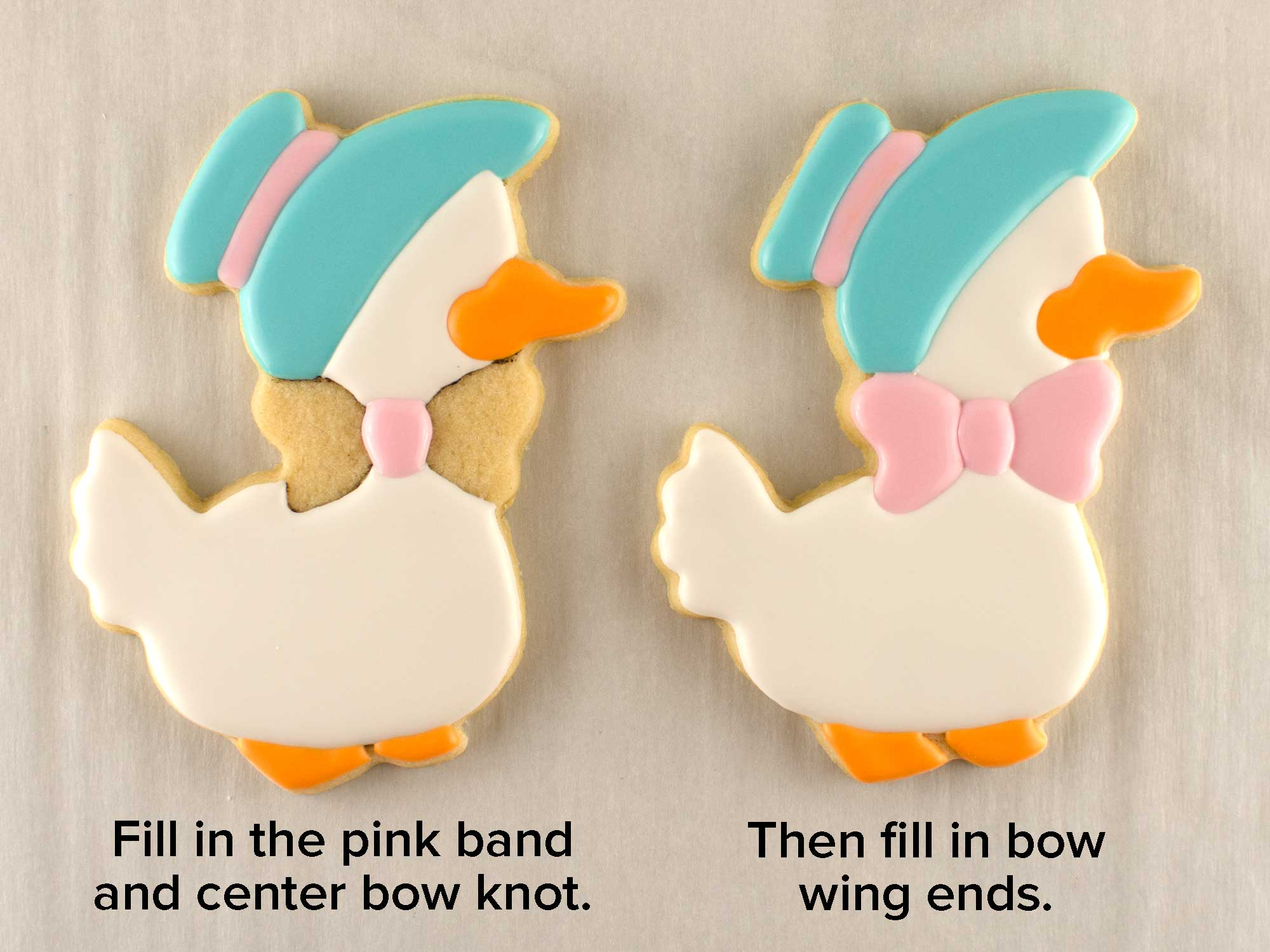Mother Duck and Duckling Cookie Cutter Set step 2