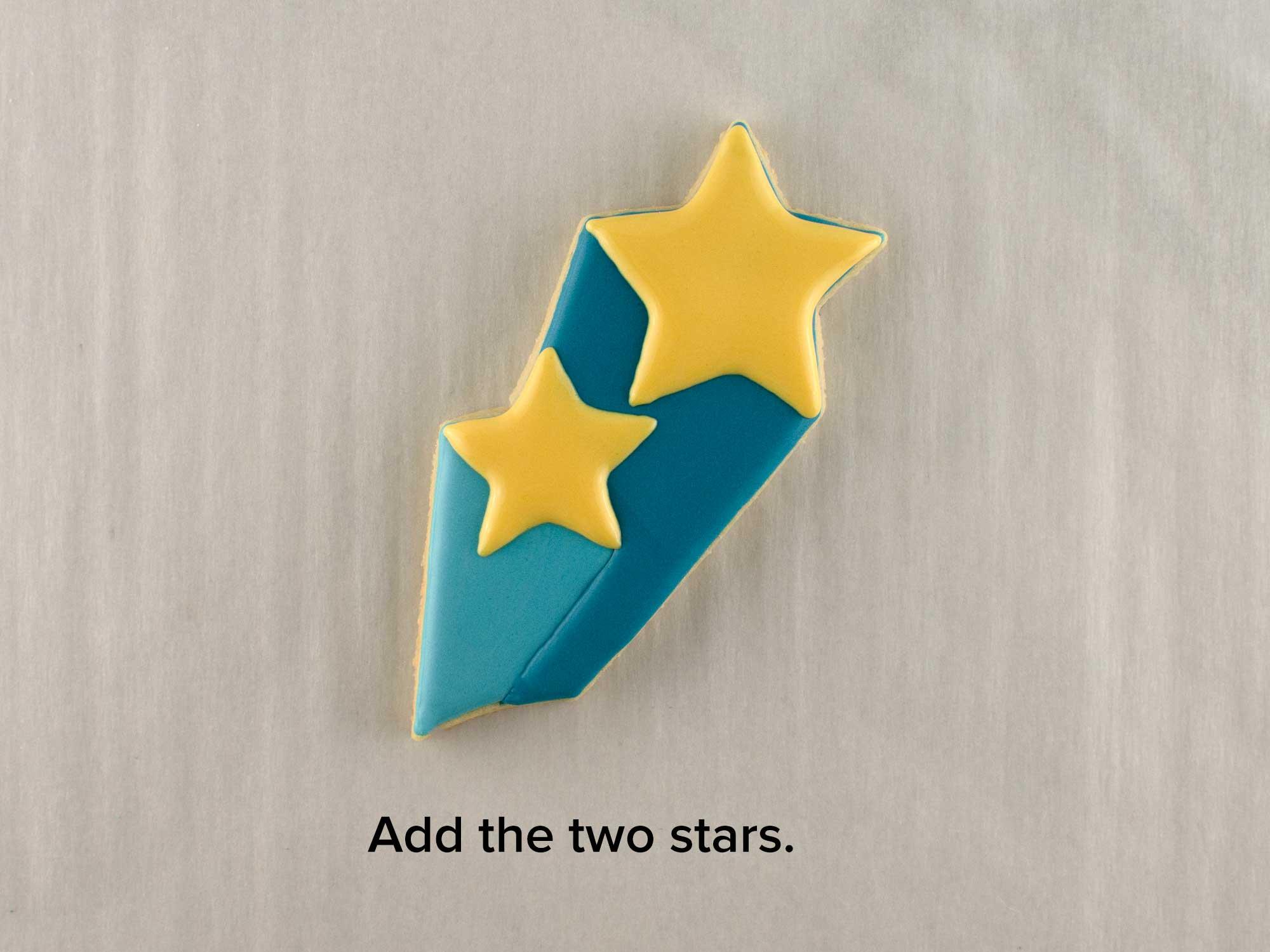 shooting stars cookie platter step 2