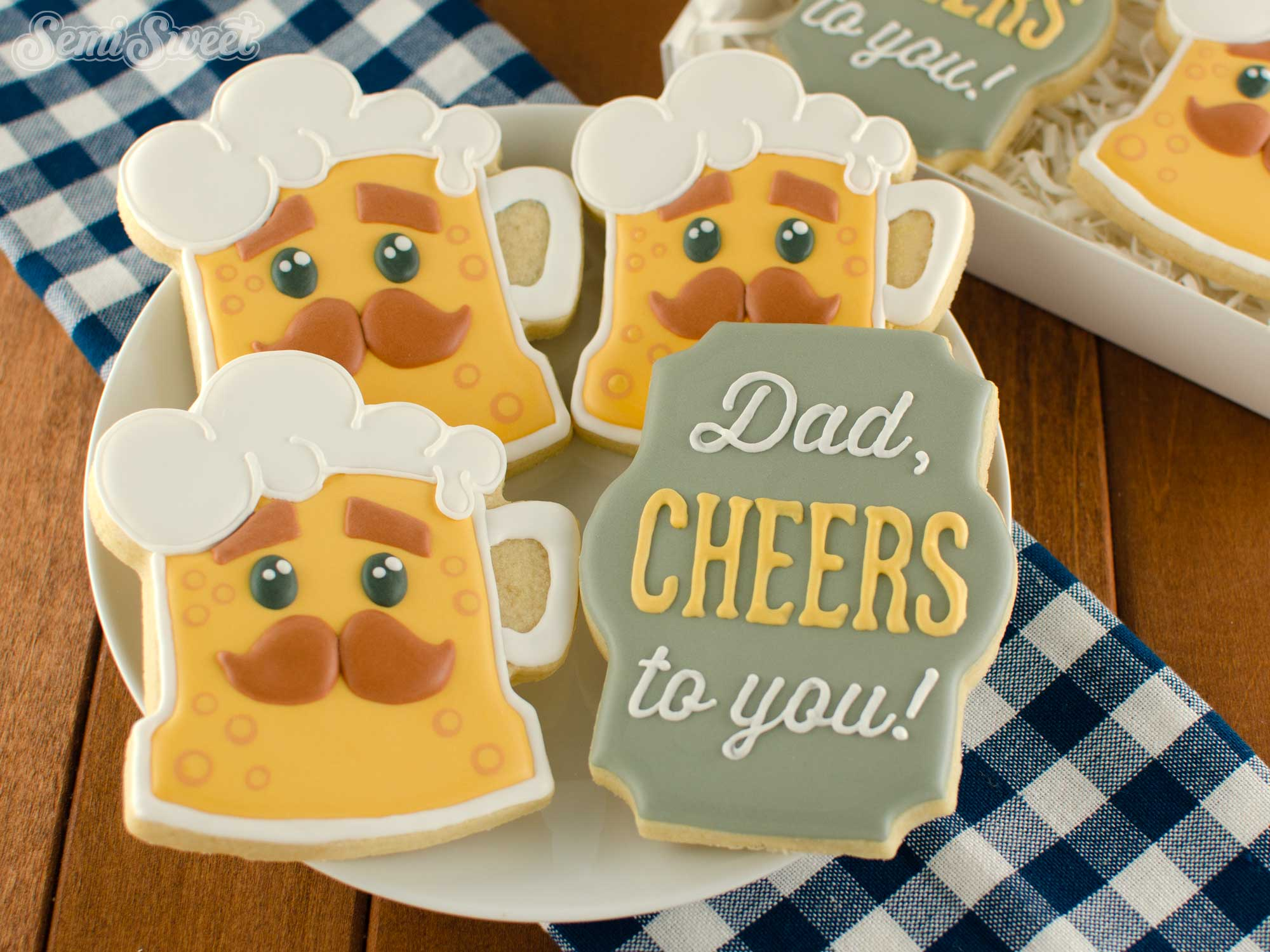 How to Make Dad Beer Cookies