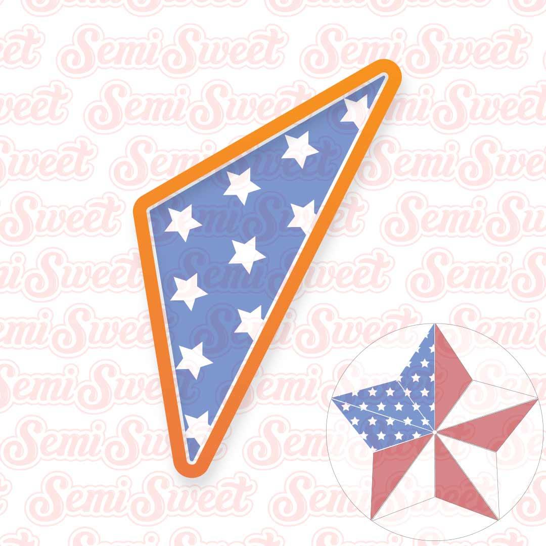 segmented star platter cookie cutter | Semi Sweet Designs