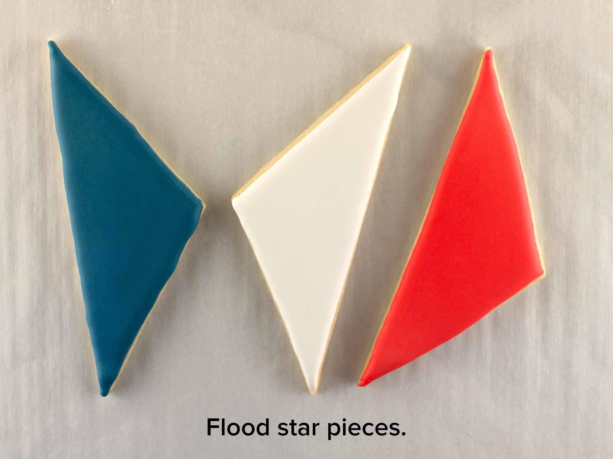 segmented star cookie platter step 2