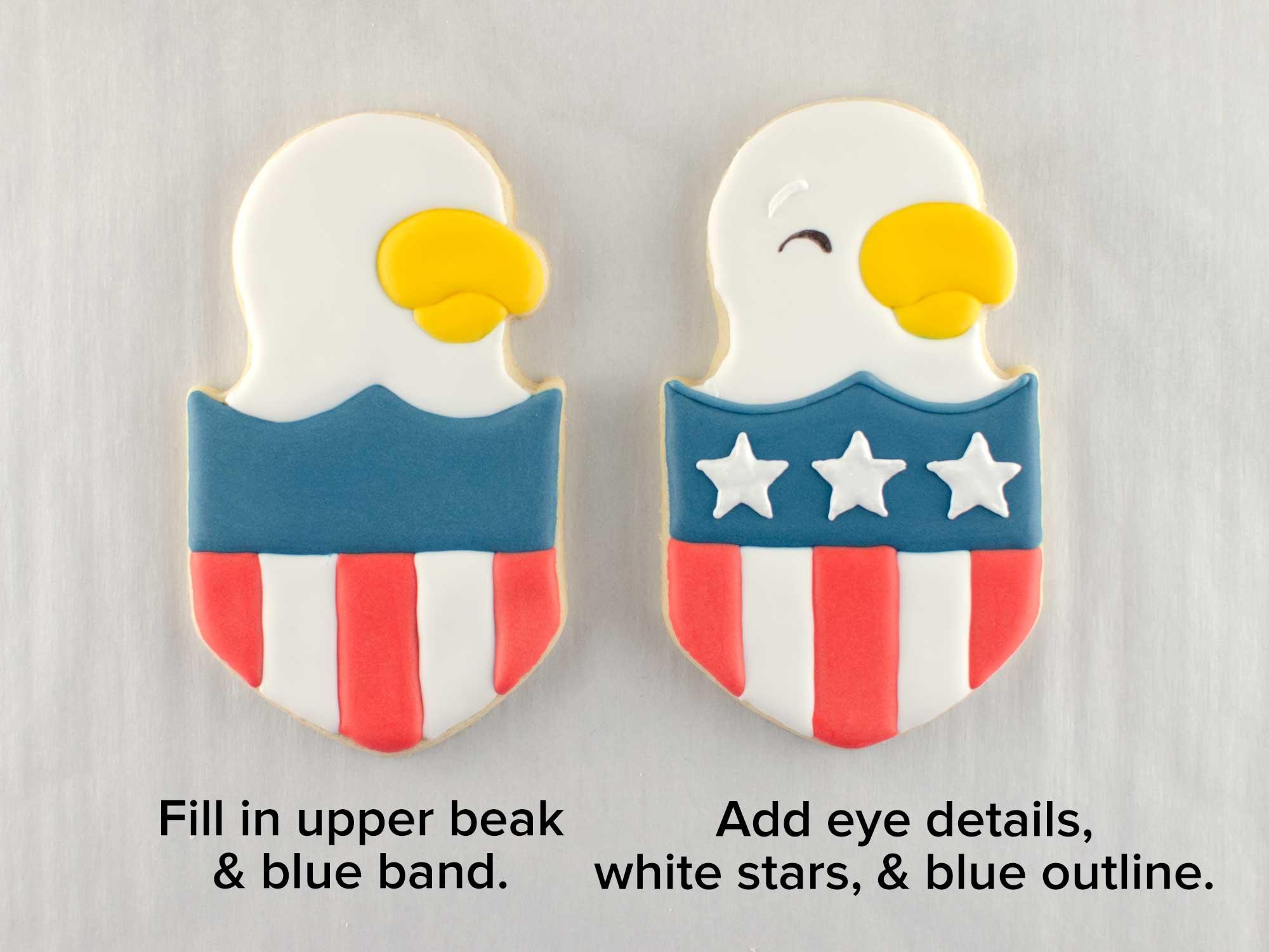 eagle shield cookie set step 3