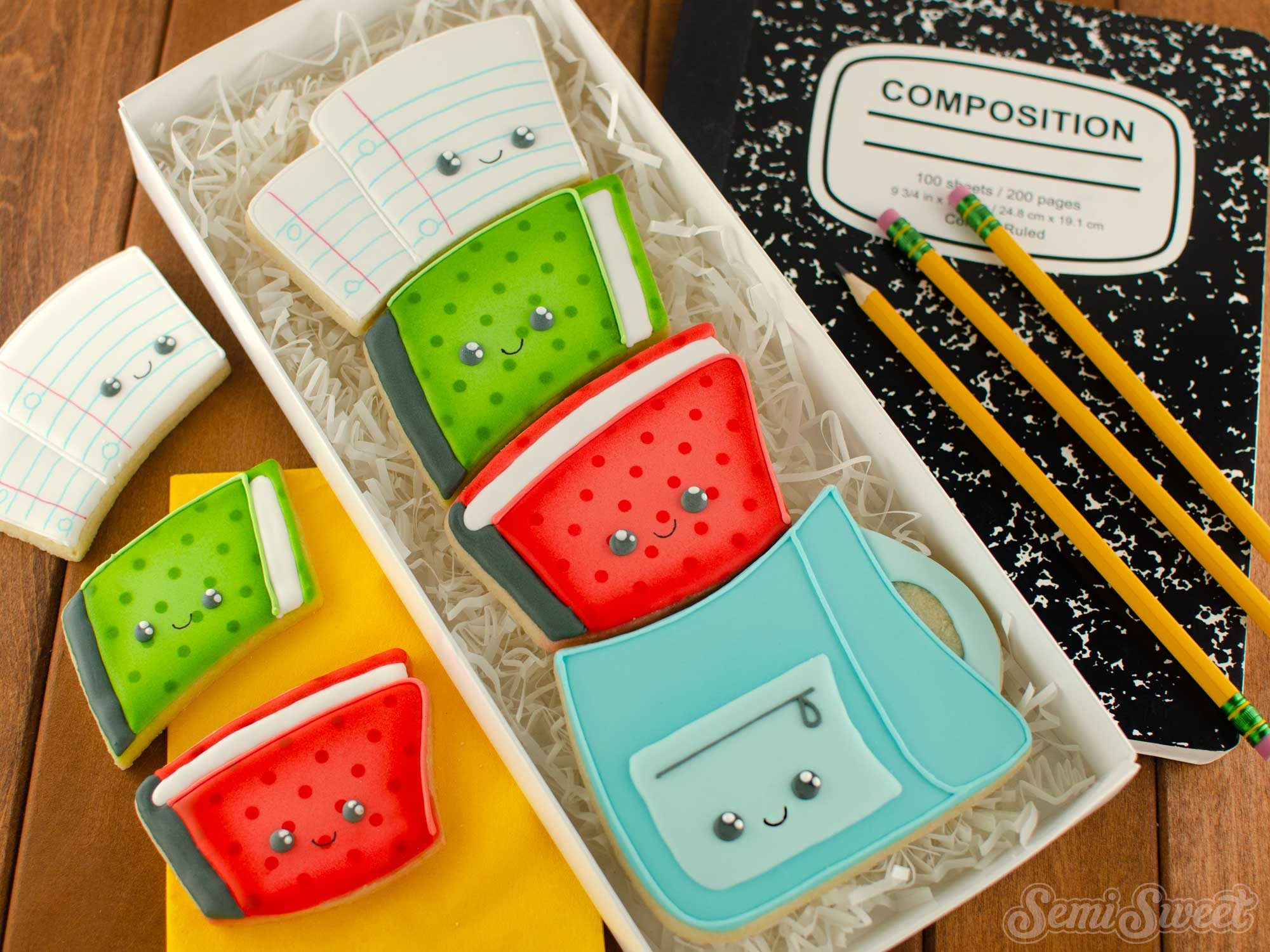 How to Make a Stackable Backpack Cookie Set