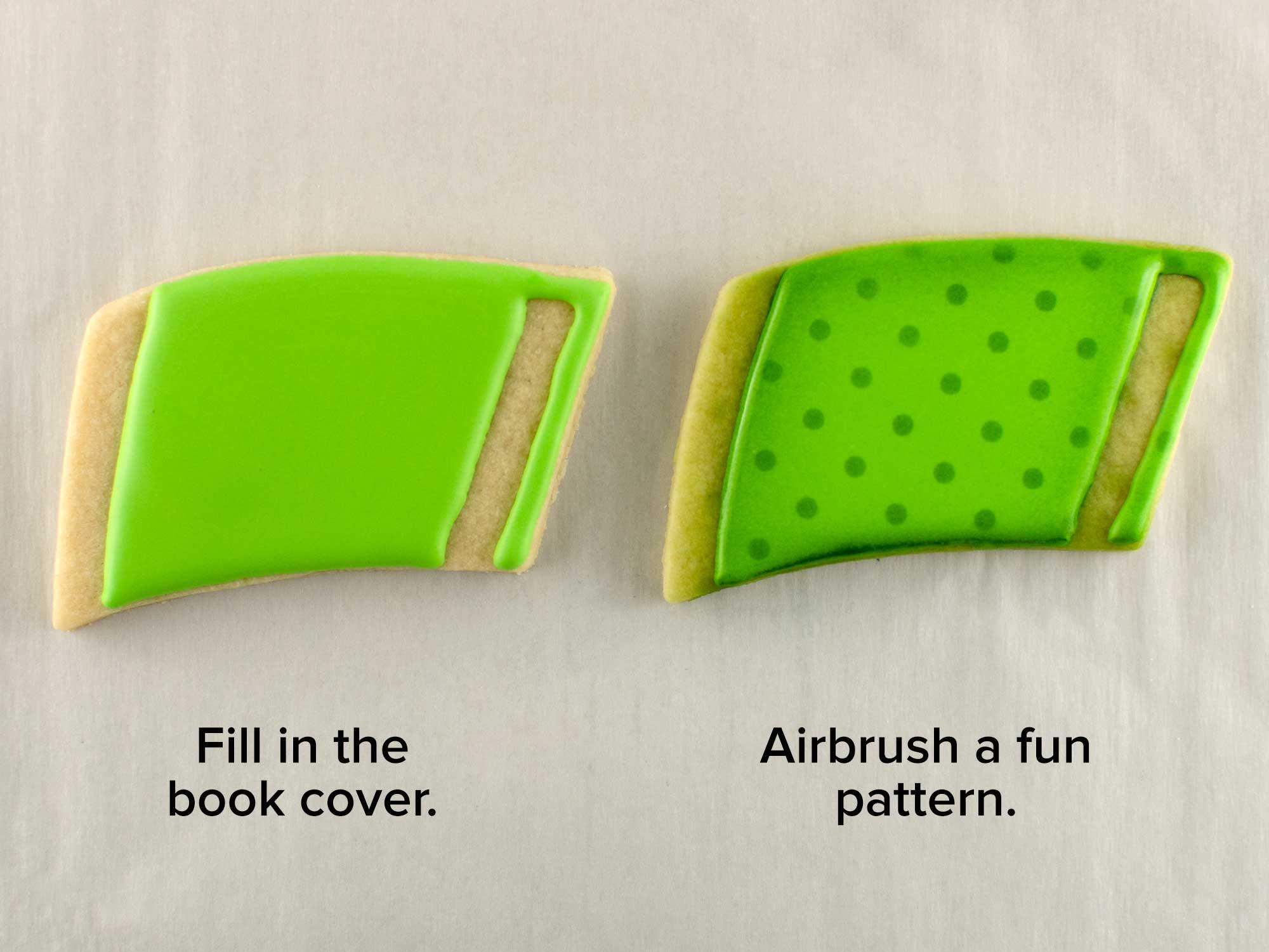 backpack cookie set step 3