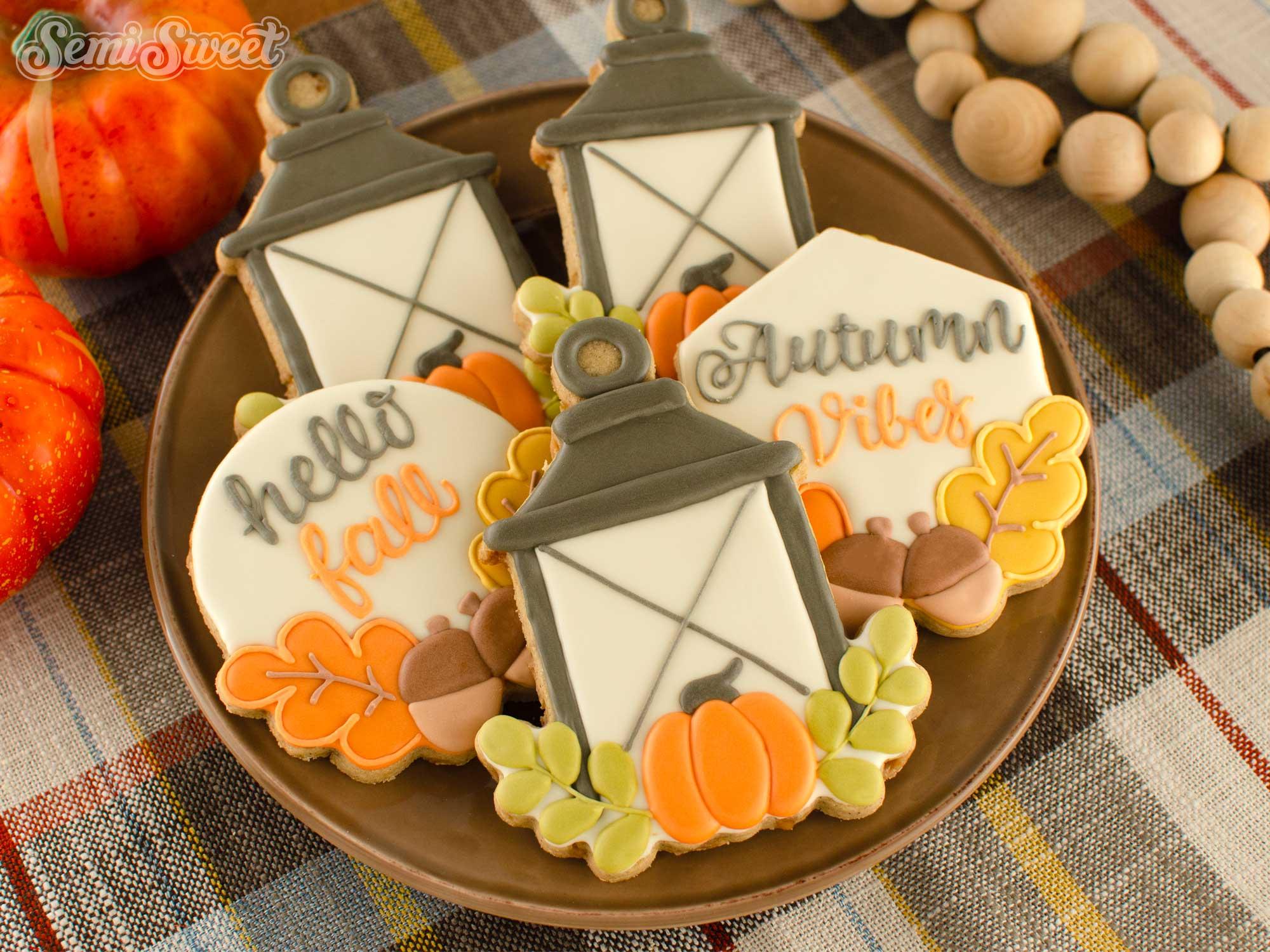 How to Make Autumn Lantern Cookies