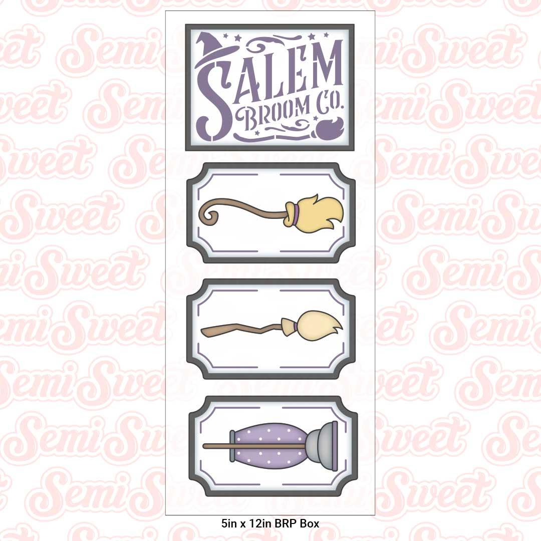 salem broom co cookie set | Semi Sweet Designs