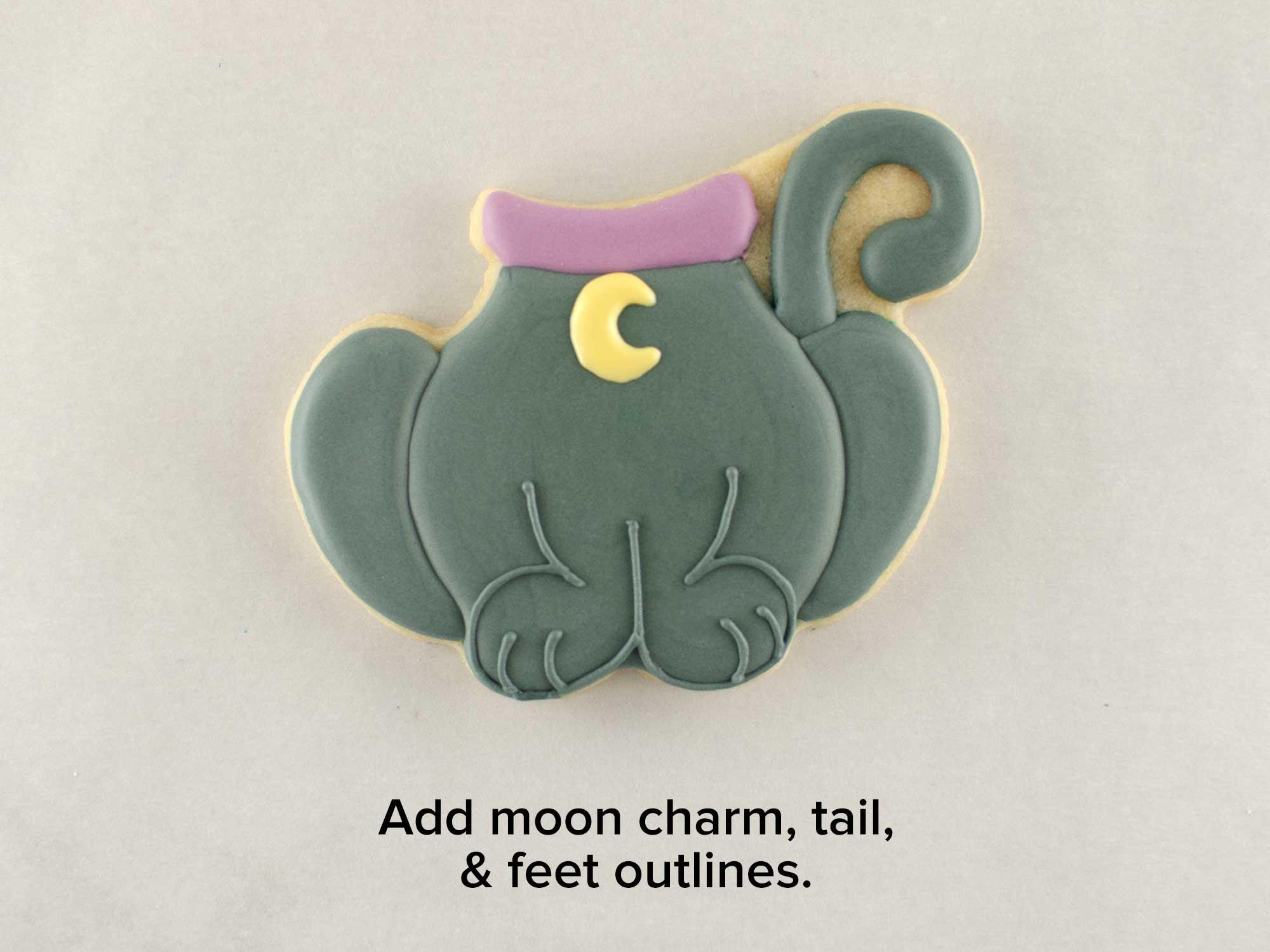 cat body cookies step2