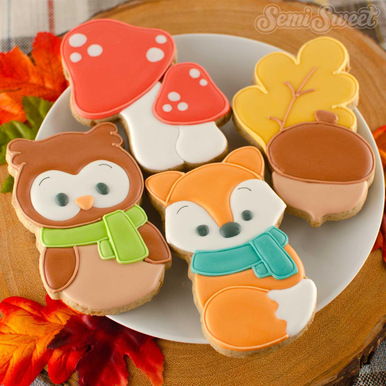 How to Make Autumn Fox Cookies