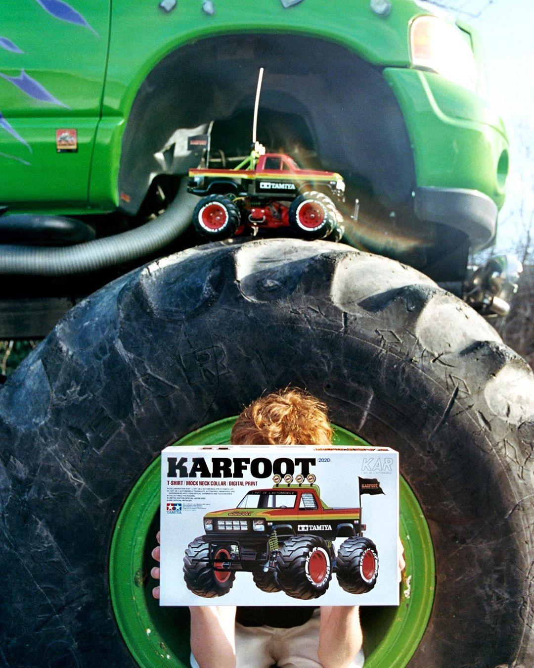 Présentation du KARFOOT, première collaboration entre L'art de l'automobile et Tamiya