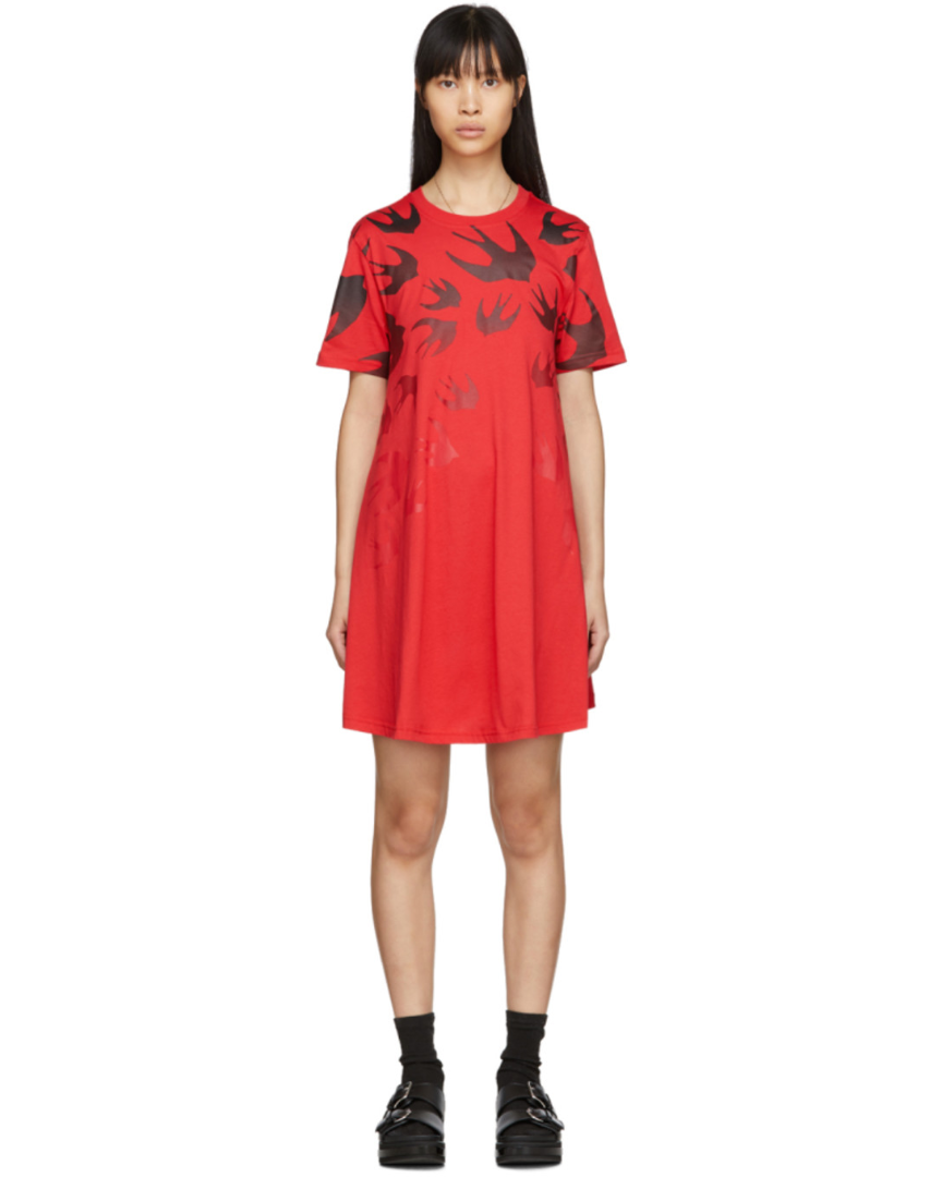 Robe rouge Swallow
