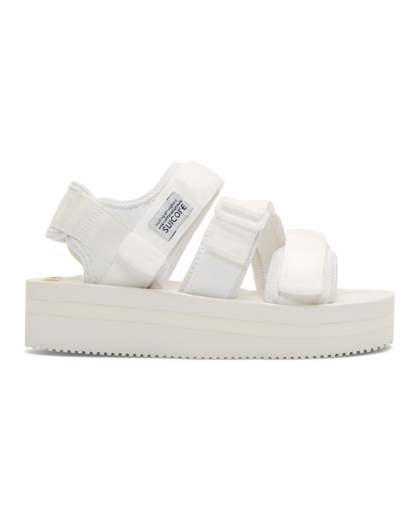 Sandales blanches Kisee-VPO
