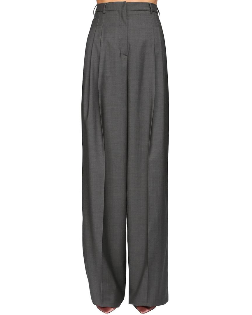 Pantalon taille haute ample