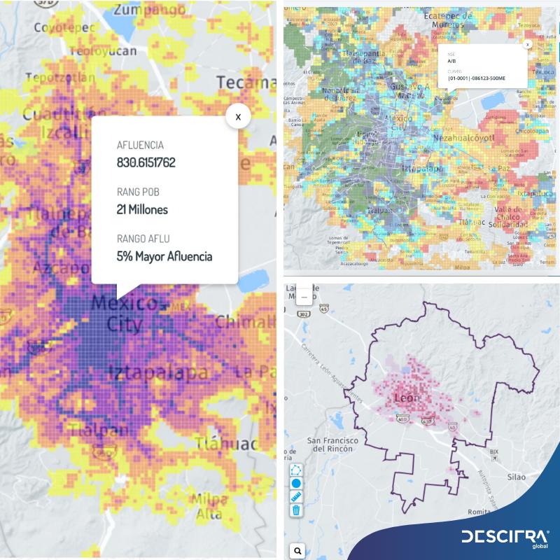Imagen: mapas de datos