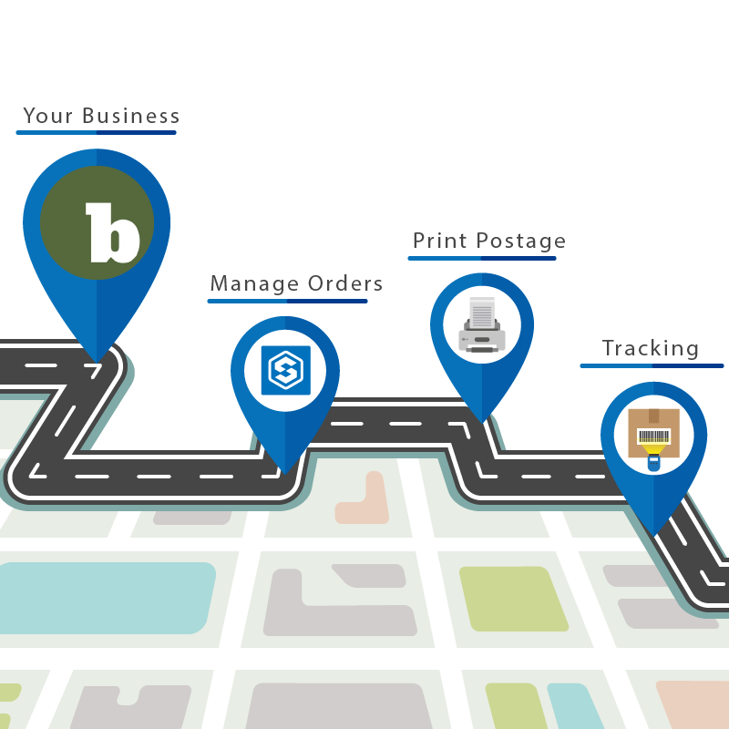 SmartShyp integrates with Bonaza to provide sellers with a simple, yet powerful shipping solution.