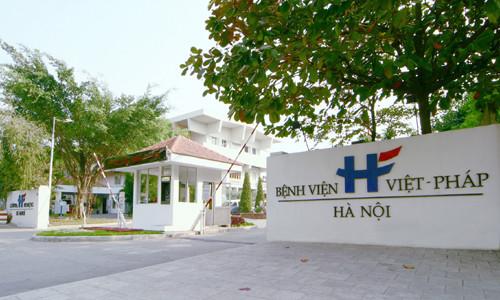 6. Bệnh viện Việt Pháp - Địa chỉ khám phụ khoa uy tín tại hà nội