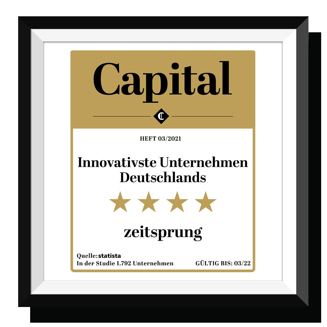 Zeitsprung gewinnt den begehrten Capital Award 2021