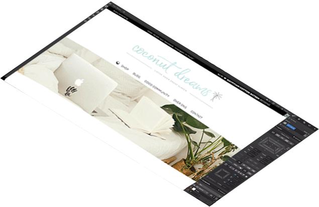 CLAIREWOUTERS.COM webdesign webbuilding