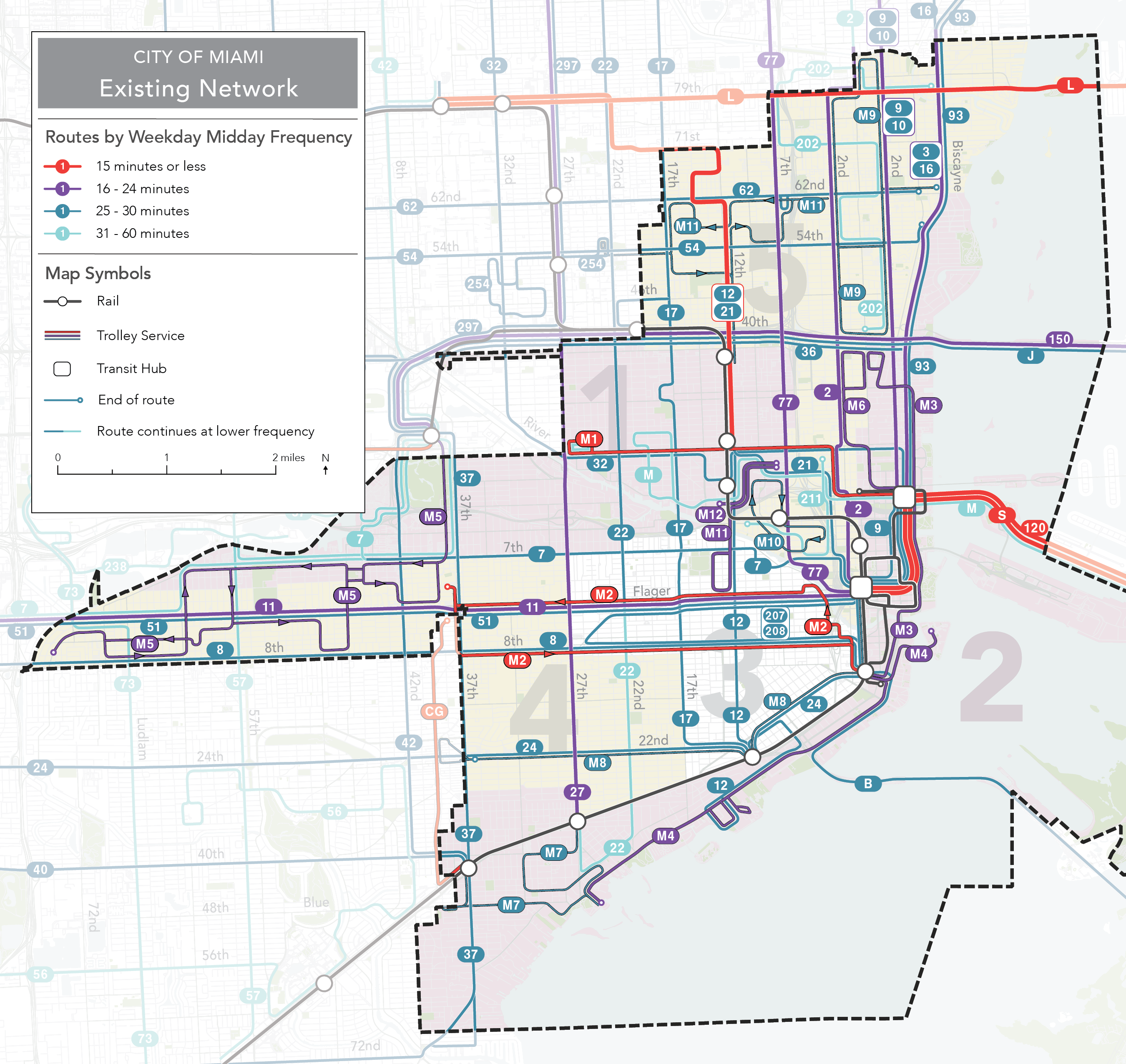 28 miami dade bus routes map - maps online for you