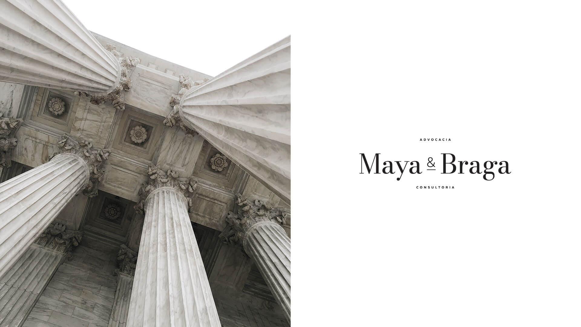 Maya e Braga secondary logo