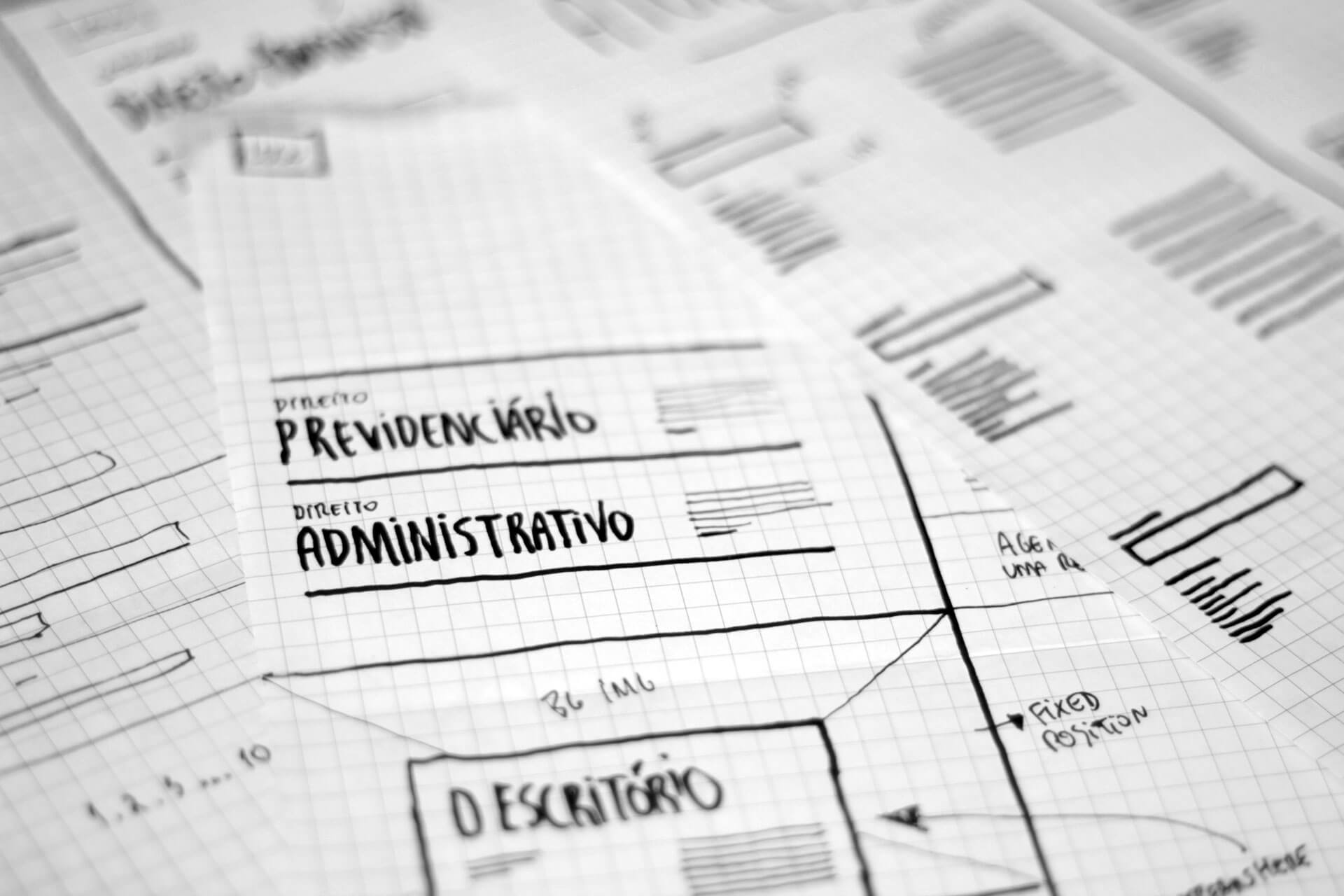 project's wireframe