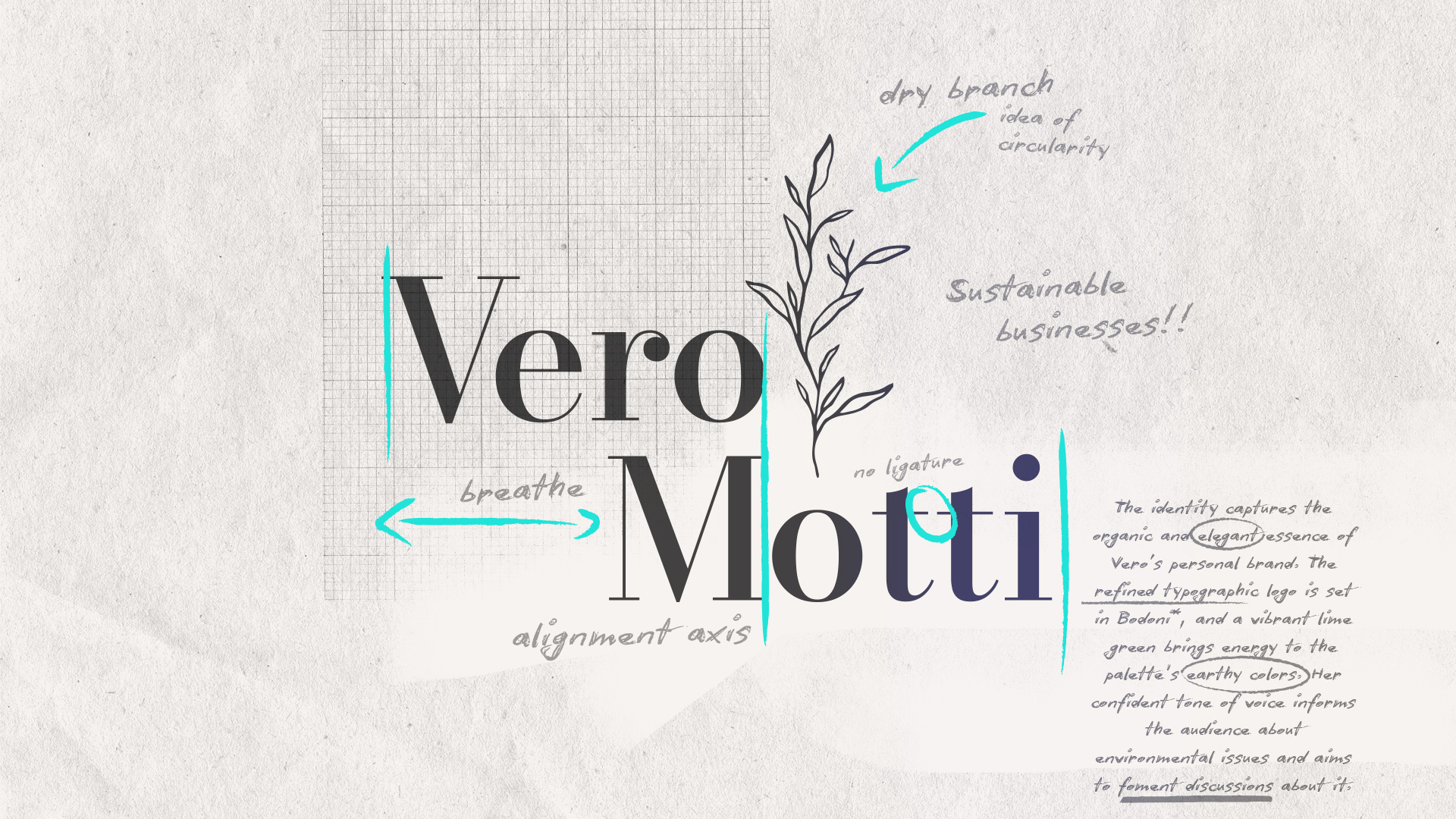 vero motti's logo and observations