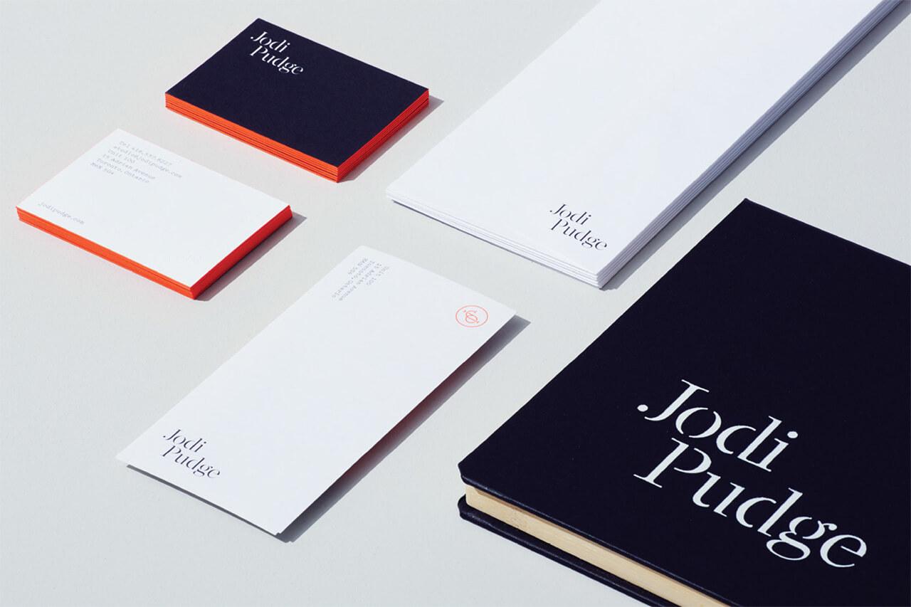 Jodi Pudge personal brand logo