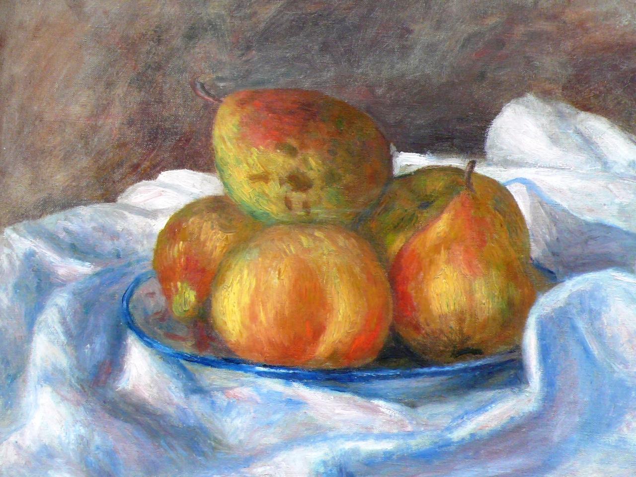 Renoir 1890 - der Apfel als Kulturgut