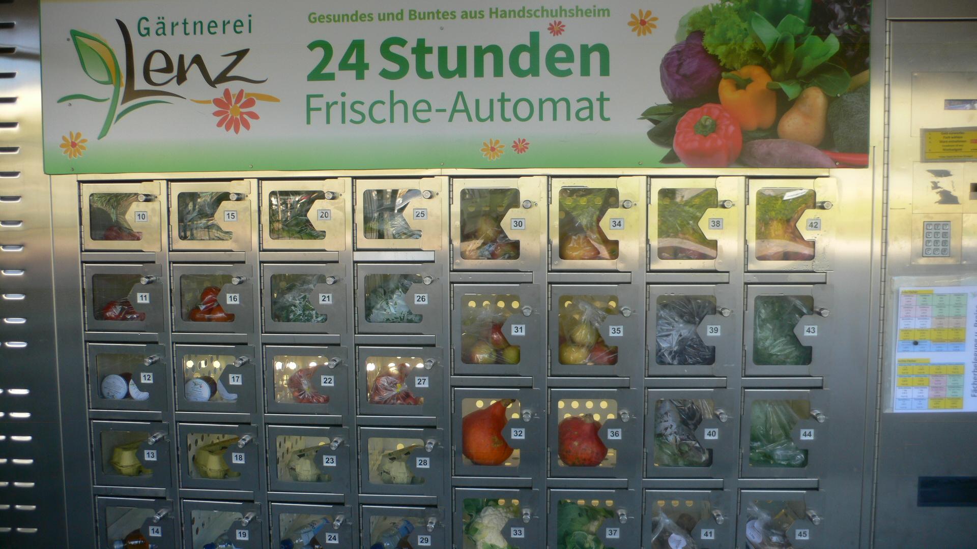 Frischeautomat bei Lenz