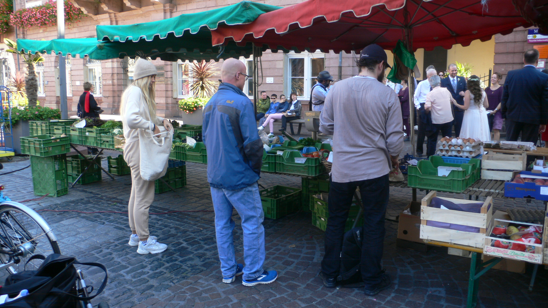 Bauernhof Meng auf dem Markt Heidelberg Altstadt