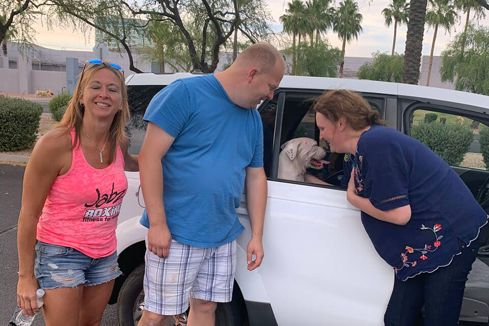 Boxer Luv Rescue team helps find a lost boxer