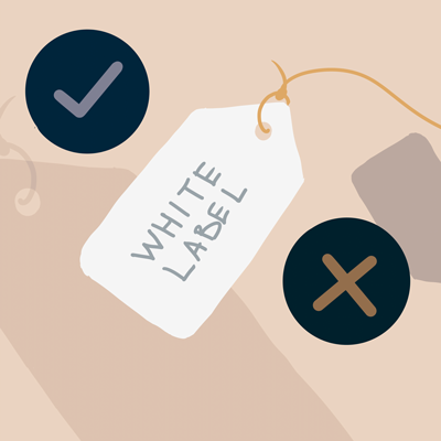 White Label products - the pros and cons