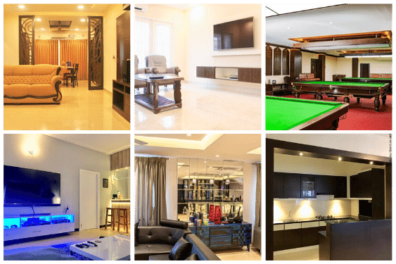 Instagram feed of Interiors in Chennai