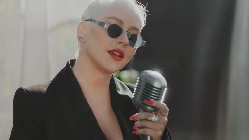 "Christina Aguilera - Reflection (2020) - for "" Good Morning America"""