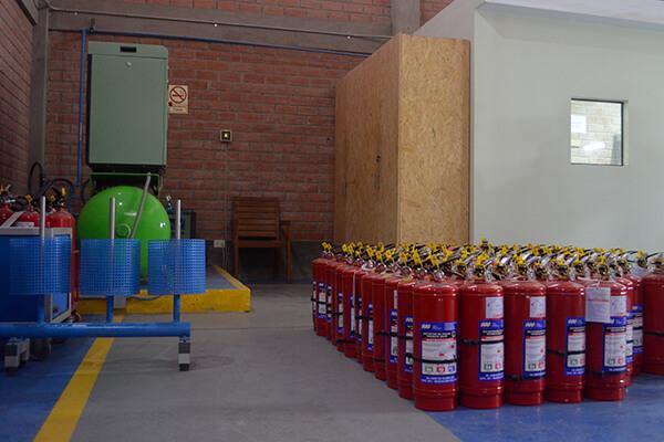 TFM Taller para la Recarga y Mantenimiento de Extintores