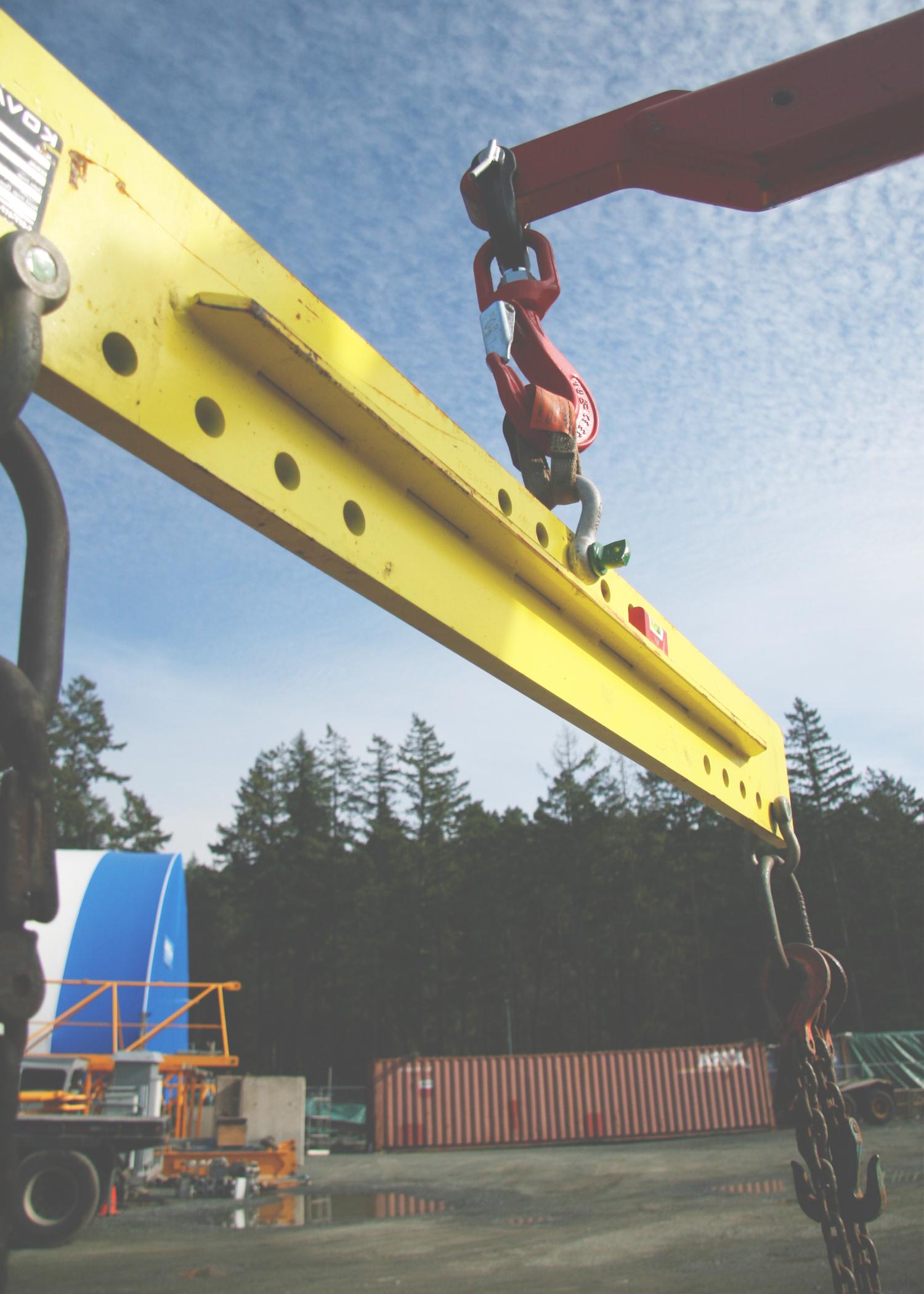 Lift Regulator bar, a picker truck, palfinger, crane, lifting, solos