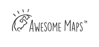The logo of Awesome Maps