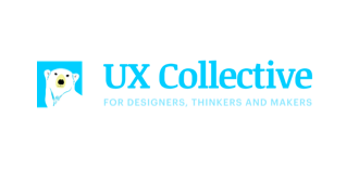 The logo of the UX Collective