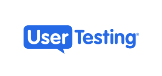 The logo of UserTesting.com