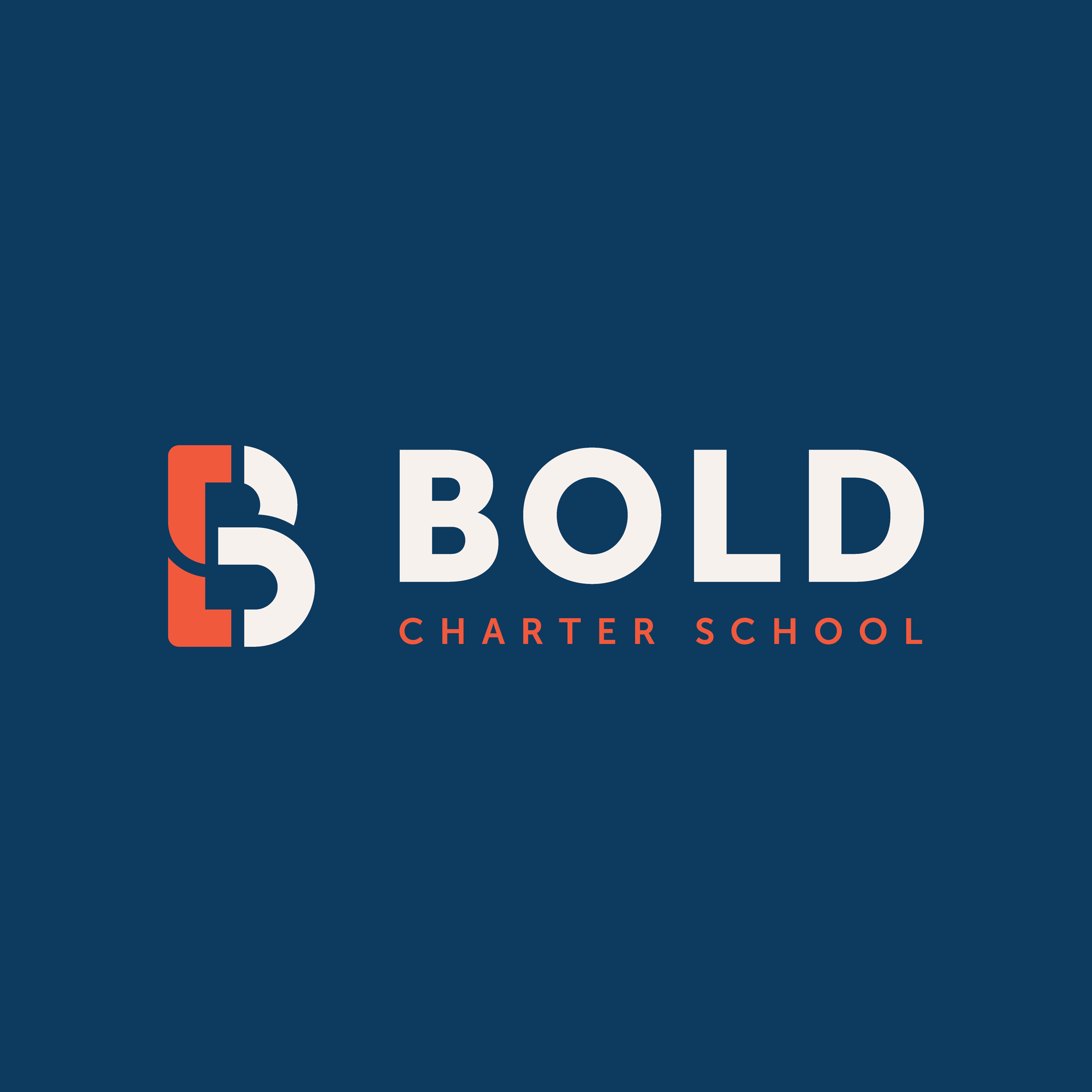 Bold Charter School in Bronx, New York Designer: Katie Cooper Monogram B Branding, Brand Identity