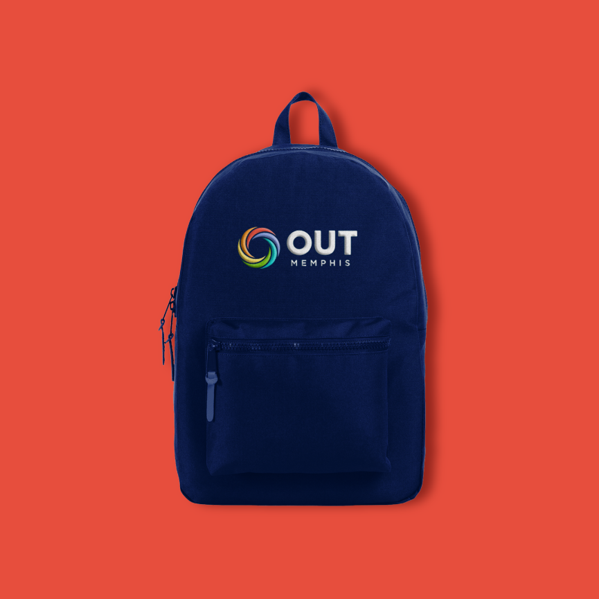 outmemphis logo backpack