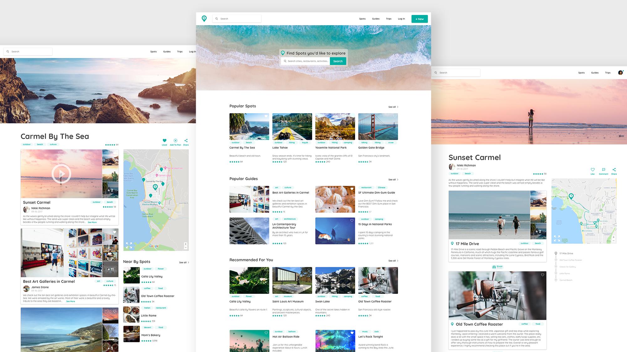 interface web design