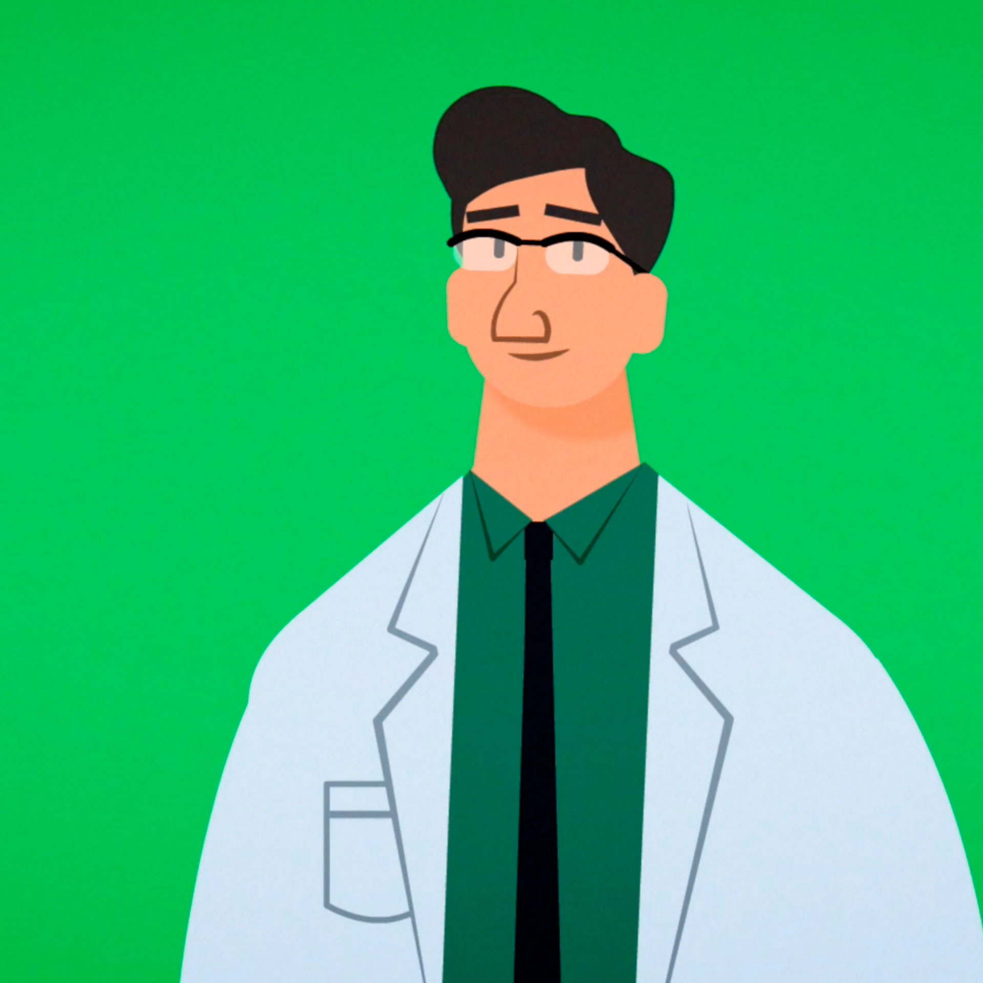 An illustration of a doctor