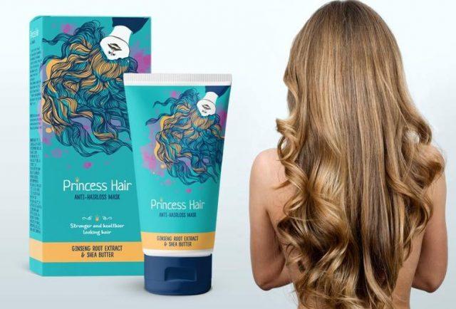 10. Dưỡng tóc và kích thích mọc tóc Princess Hair - Mặt nạ dưỡng tóc nhập khẩu Nga