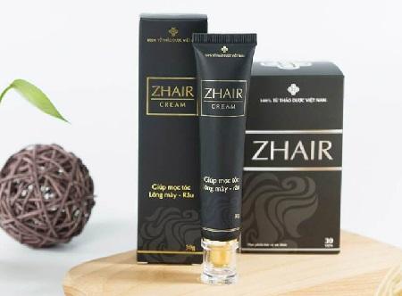 1. Kem kích thích mọc tóc tốt nhất hiện nay Zhair Cream